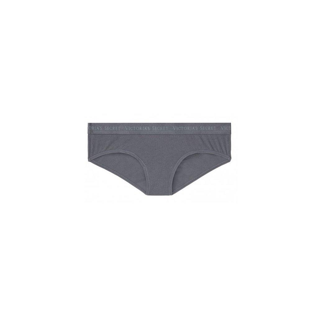 Victoria's Secret tmavě šedé klasické kalhotky