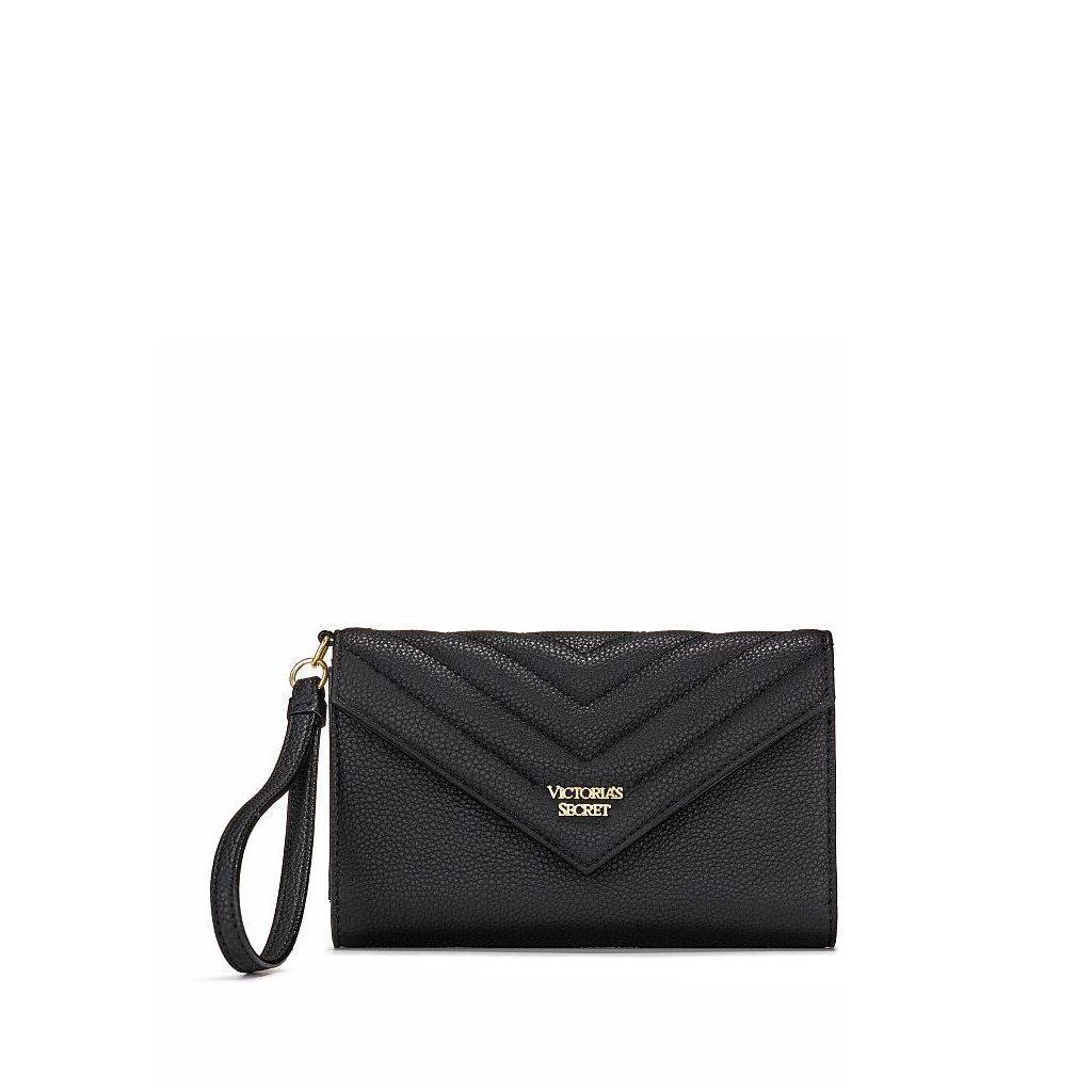Victoria's Secret černá kabelka do ruky/psaníčko