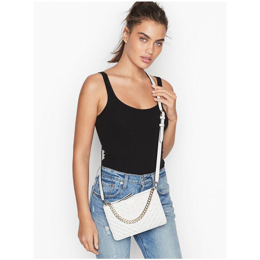 Victoria's Secret luxusní bílá crossbody kabelka