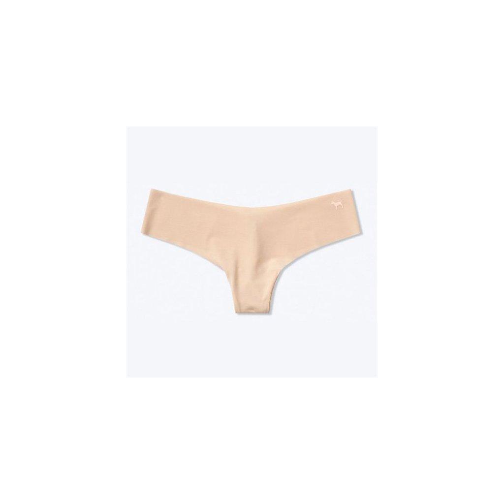 Victoria's Secret PINK tělová bezešvá tanga No Show Thong