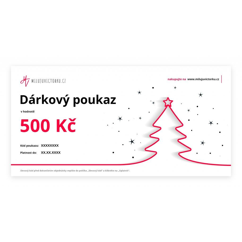 MV voucher 500 Kč Christmas