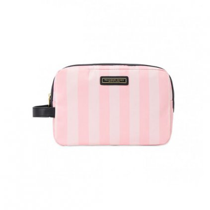 Victoria's Secret kosmetická taška Signature Stripe Carry-All Case