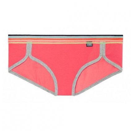 Victoria's Secret PINK korálové bokové kalhotky