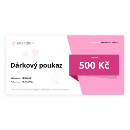 MV voucher 500 Kč