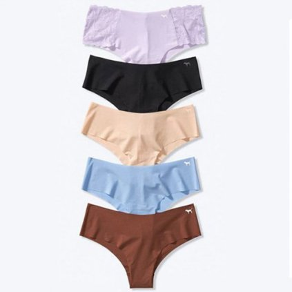 Victoria's Secret PINK 5-pack Basic No Show Cheeksters