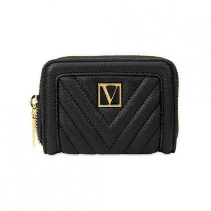 Victoria's Secret malá černá peněženka
