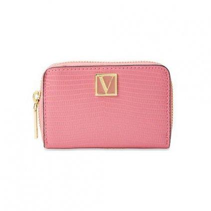 Victoria's Secret malá růžová peněženka