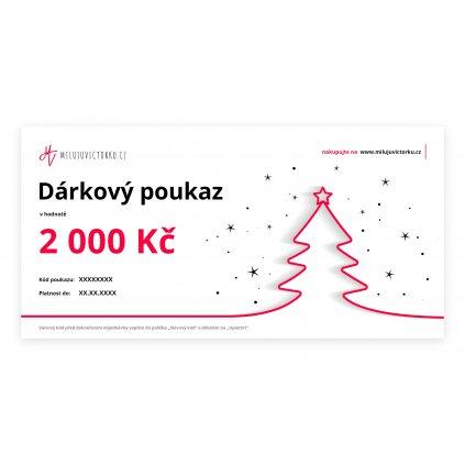 MV voucher 2 000 Kč Christmas