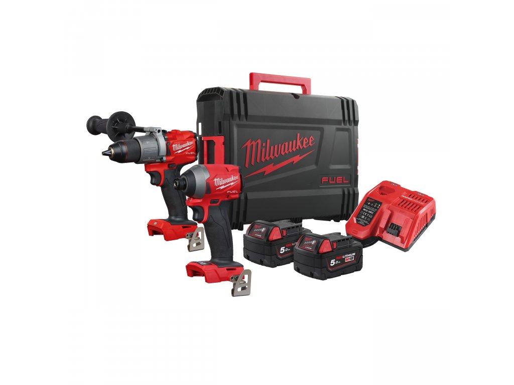 Milwaukee M18 FPP2A2-502X, M18 FUEL™ set nářadí