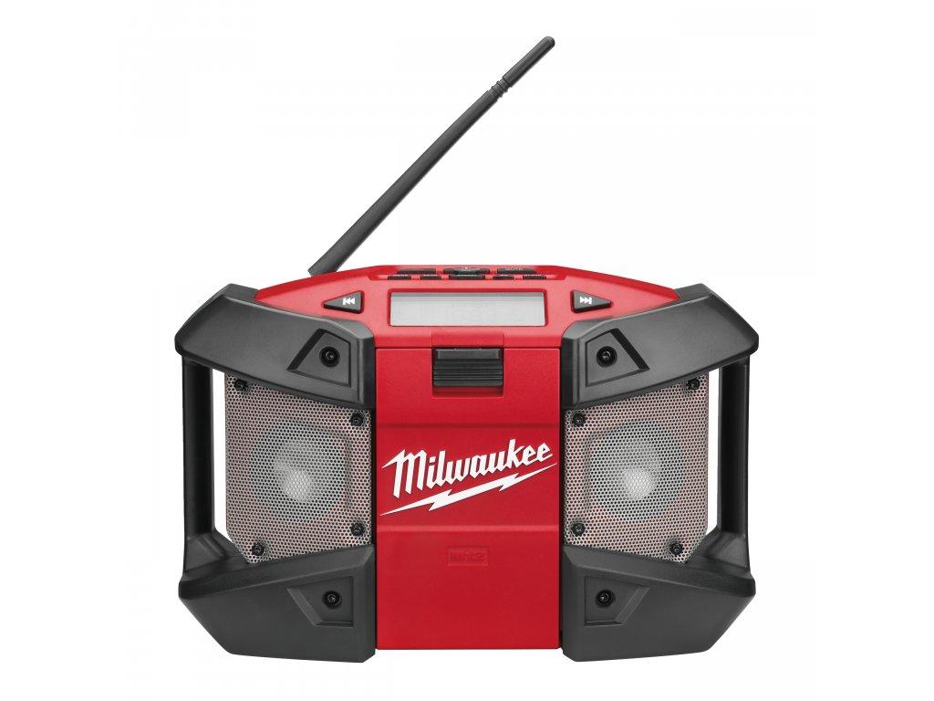 Milwaukee C12 JSR-0, M12™ kompaktní rádio s napojením na MP3