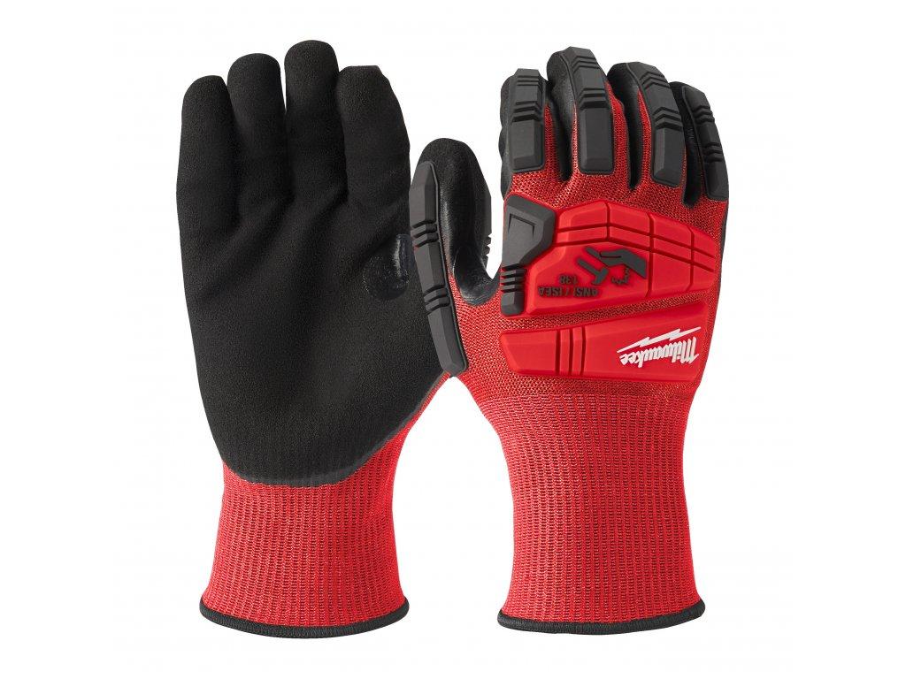 Vyztužené rukavice odolné proti proříznutí Level 3 - vel L/9