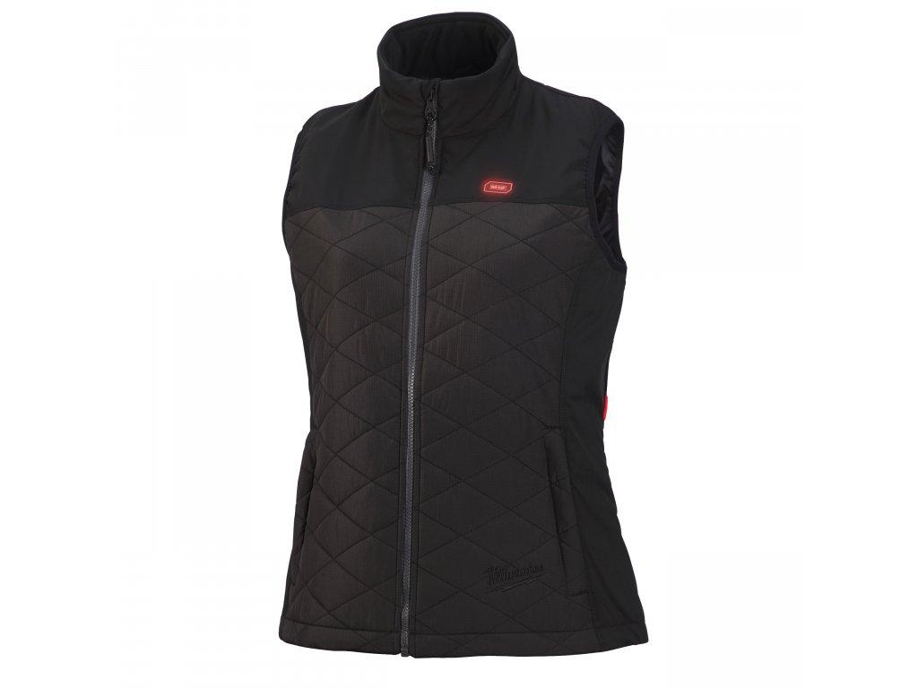Milwaukee M12 HBWP-Ladies - dámská vyhřívaná hybridní prošívaná vesta