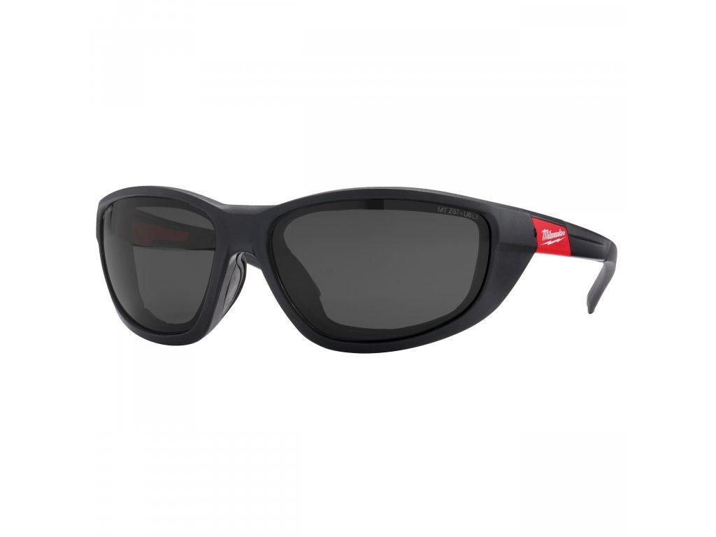 Premium ochranné brýle zatmavené s těsnící vložkou