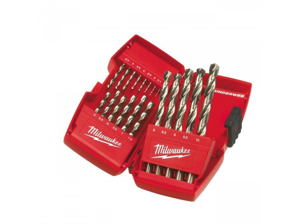 Sada vrtáků Thunderweb 19ks (1-10mm)