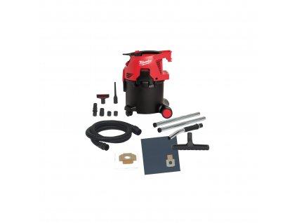 Milwaukee  AS 300 ELCP, Vysavač prachu třídy L (30 litrů) - snadné čištění filtru