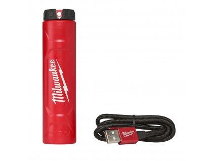 Milwaukee L4 C, Nabíječka USB