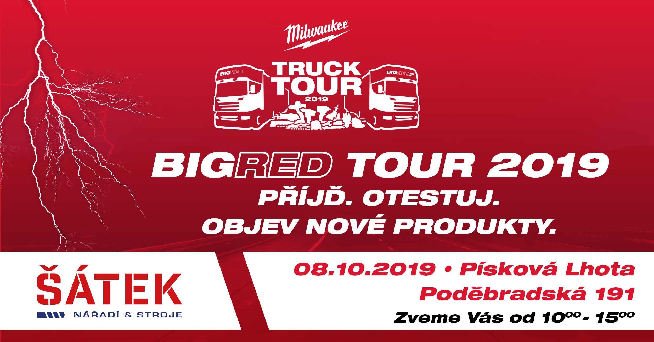 Milwaukee big red tour 2019
