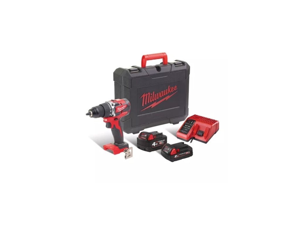 Milwaukee M18 CBLPD-422C Heavy duty set