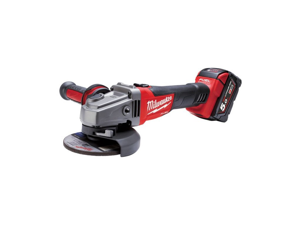 Milwaukee M18 CAG115X-502X M18 FUEL™ 115 mm Úhlová bruska