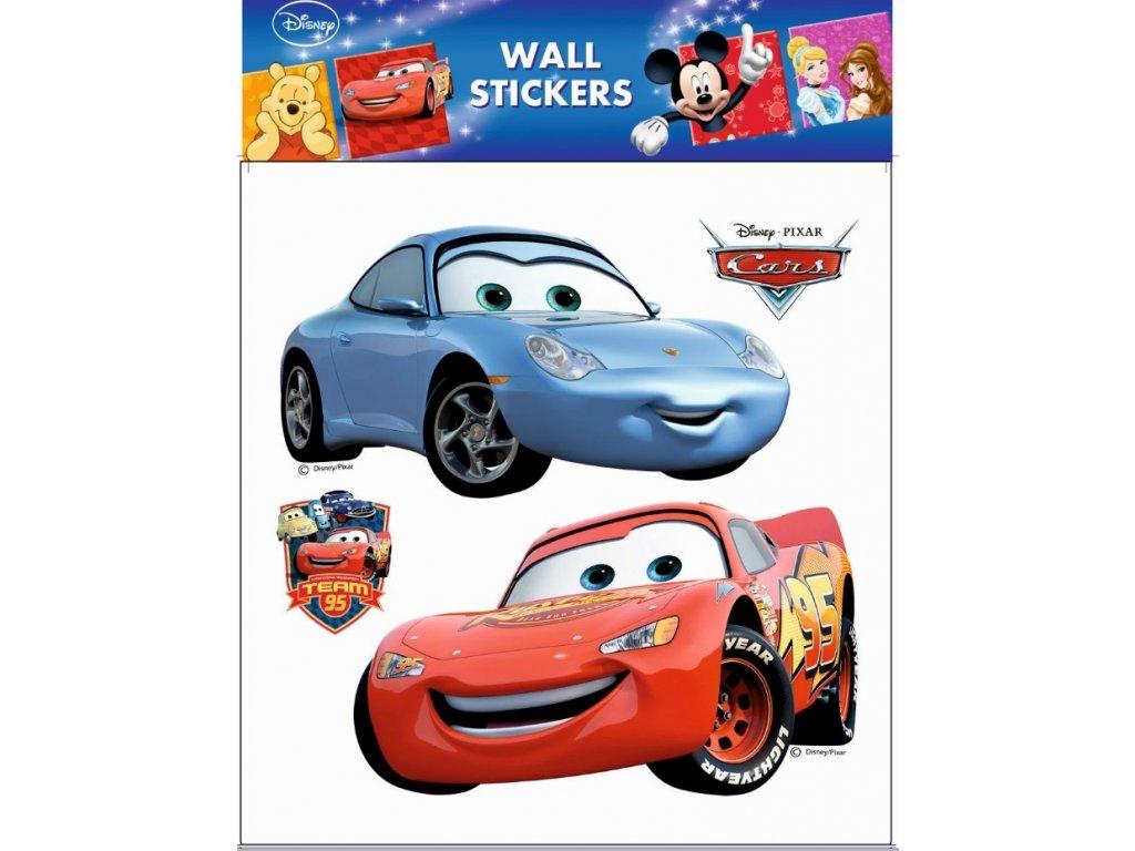Samolepky na zeď Disney Auta (2 velká) 30x30cm