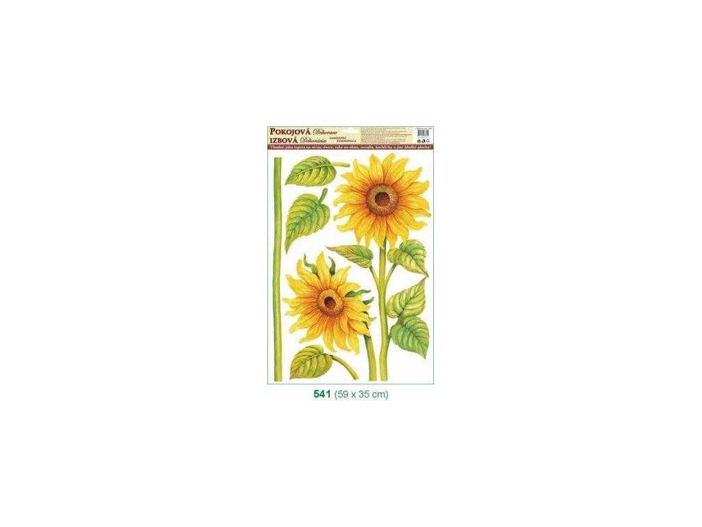 Květinová pokojová dekorace 59x35 cm - slunečnice Anděl