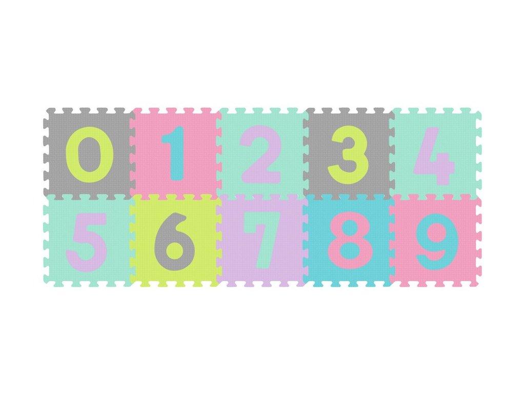 Pěnové puzzle babyono čísla