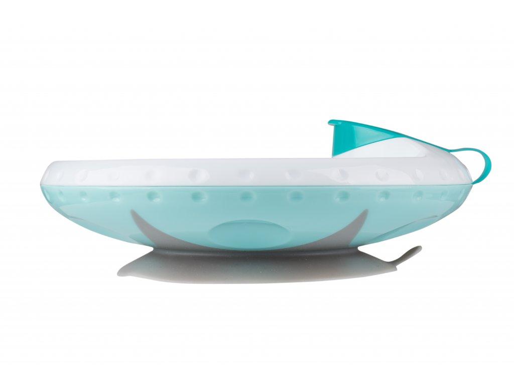 Termo miska s přísavkou babyono modrá