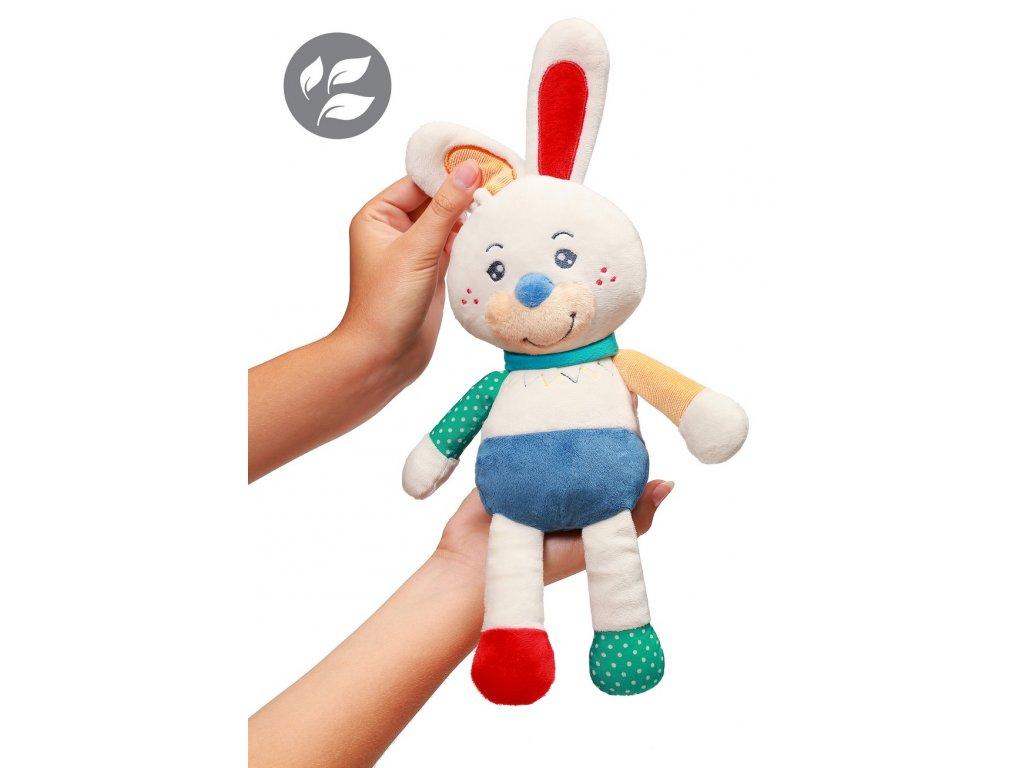 Plyšová hračka babyono zajíček