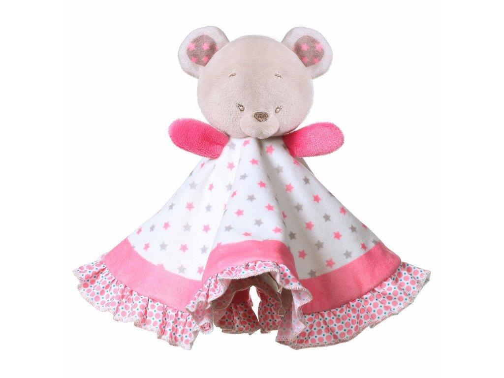 Plyšový usínáček babyono růžový