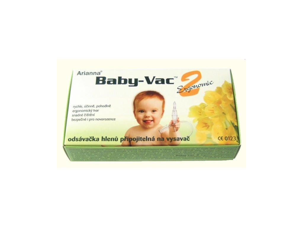 Arianna Baby Vac-odsávačka hlenů do nosu na vysavač