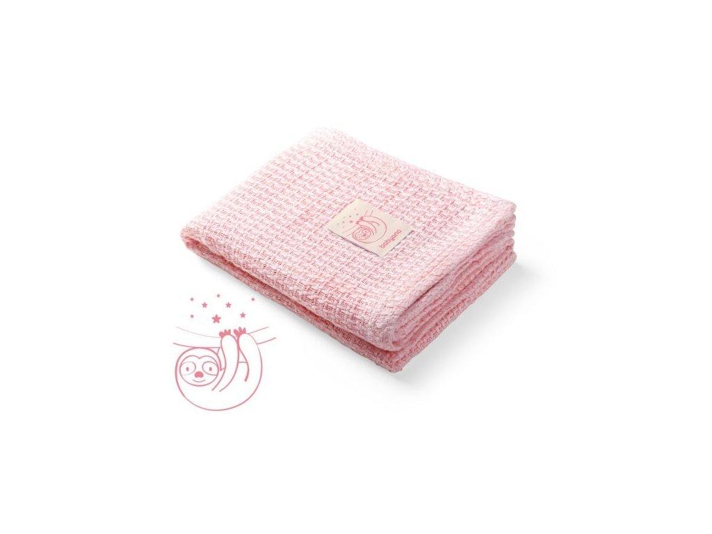Bambusová pletená deka babyono