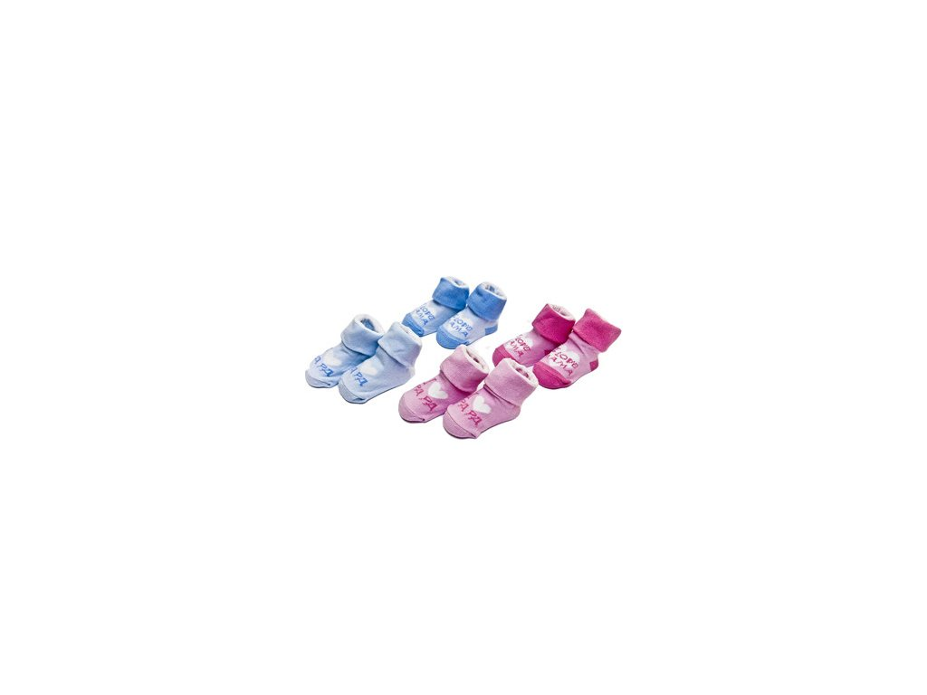 Ponožky dětské s nápisem