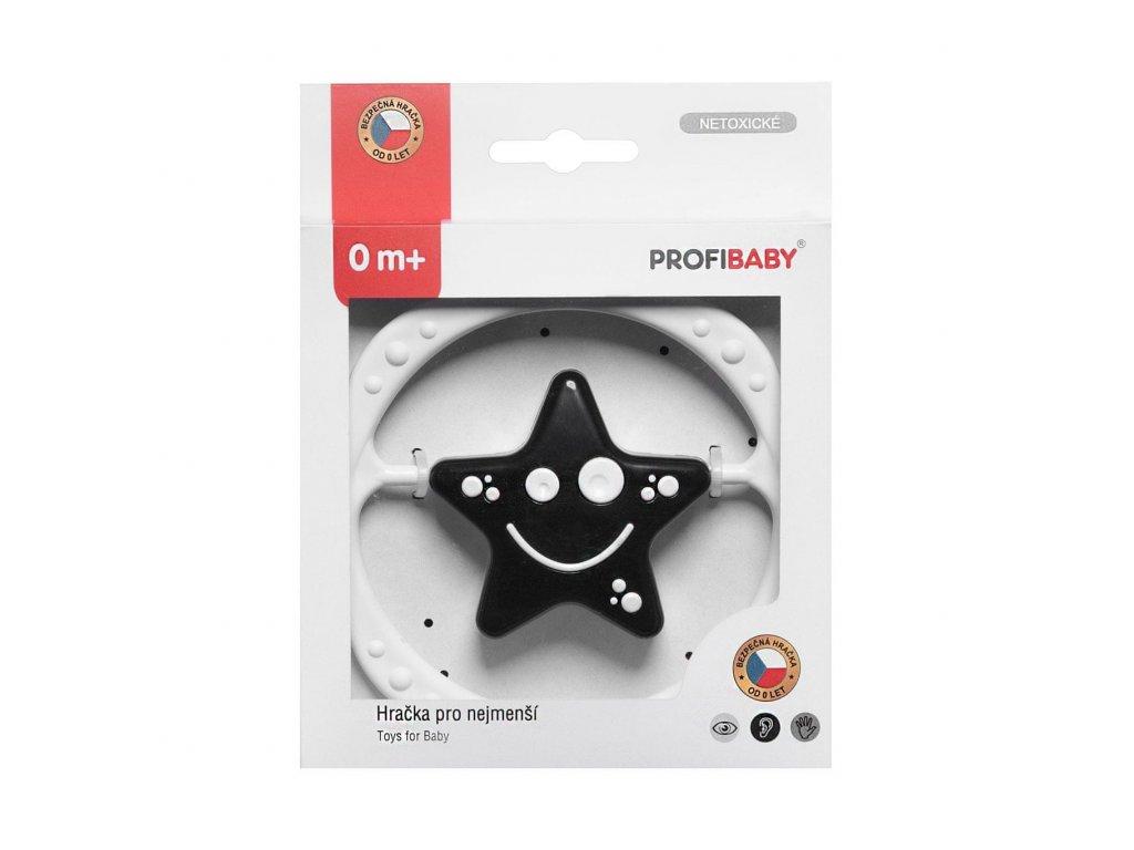 Profibaby Kruh hvězda černobílá v krabičce