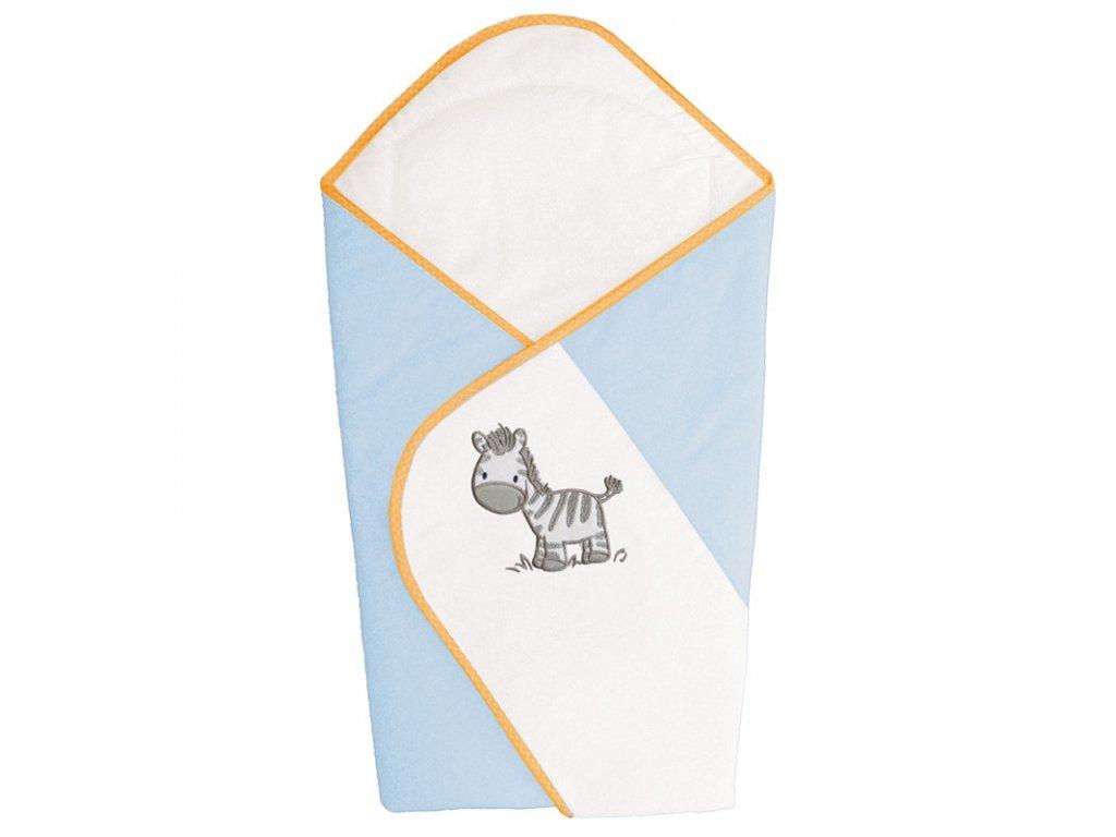 Zavinovačka modrá zebra Ceba Baby