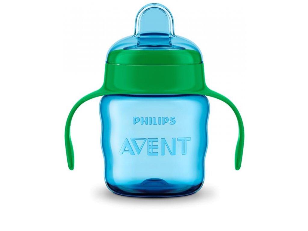 Philips AVENT Hrneček pro první doušky Classic 200 ml s držadly chlapec