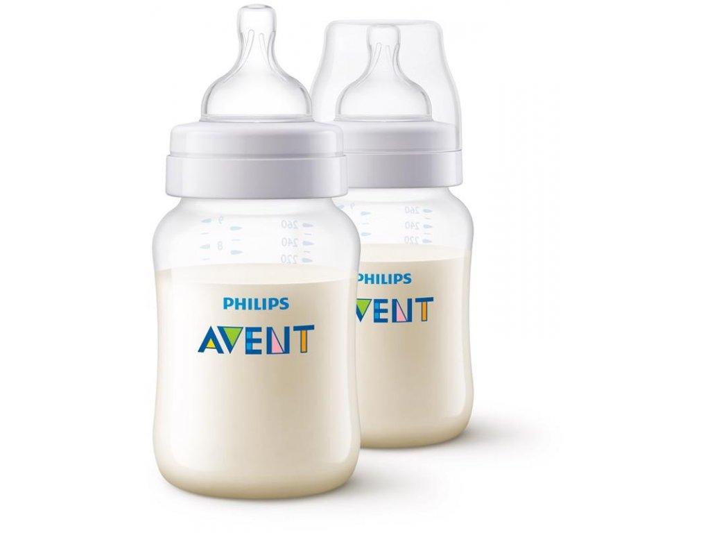 Philips AVENT Láhev Anti-colic 260 ml, 2 ks