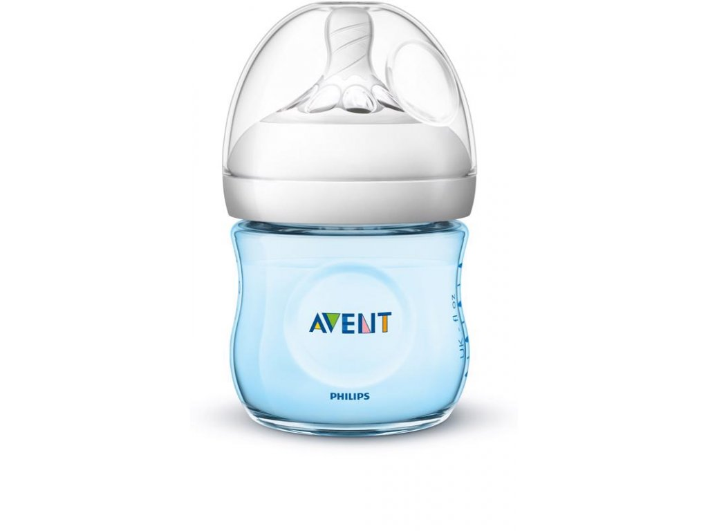 Philips AVENT Láhev Natural 125 ml, modrá