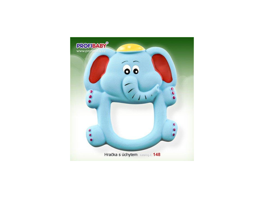Profibaby gumové chrastítko slon