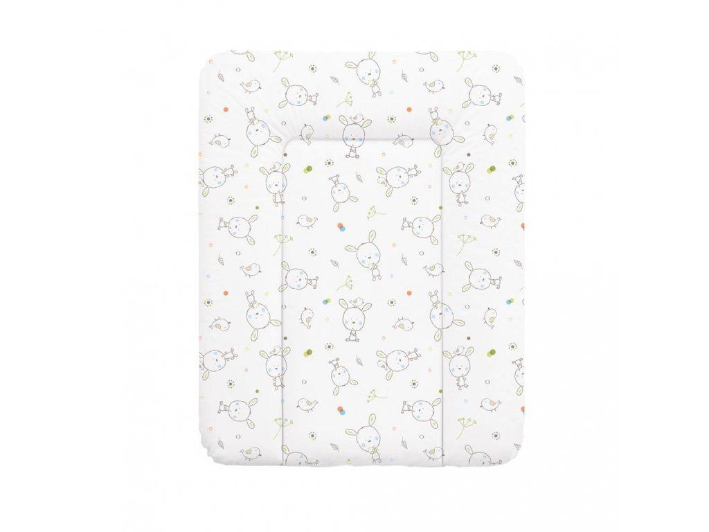 Přebalovací podložka na komodu 50 x 70 cm Dream puntíky bílá