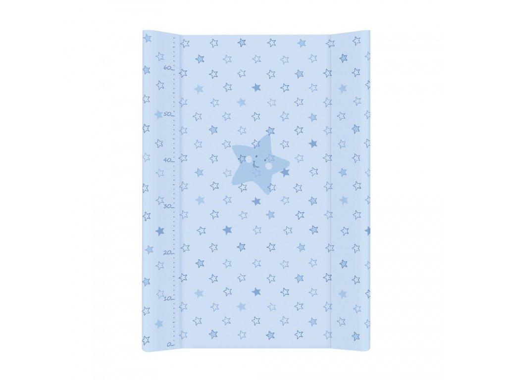Přebalovací podložka MDF 70 cm Hvězdy modrá