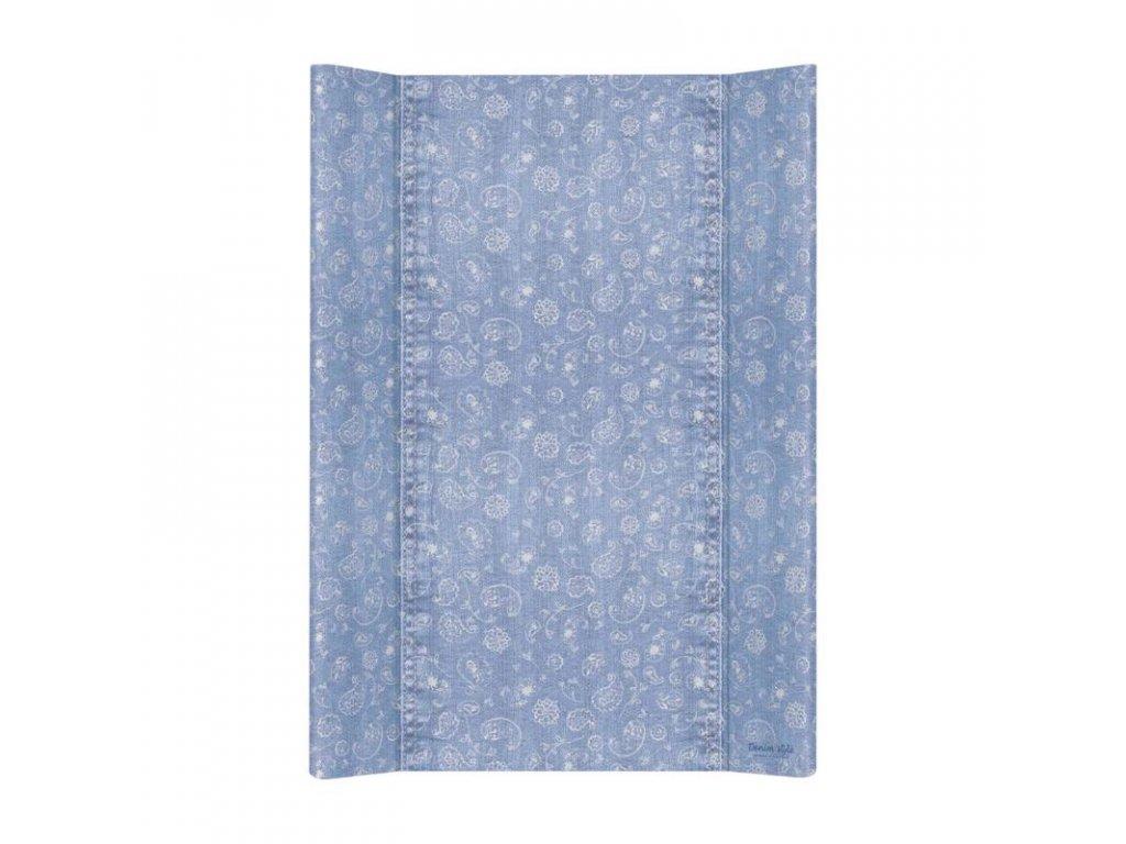 Podložka přebalovací 2-hranná MDF 70cm Denim Style Boho blue Ceba