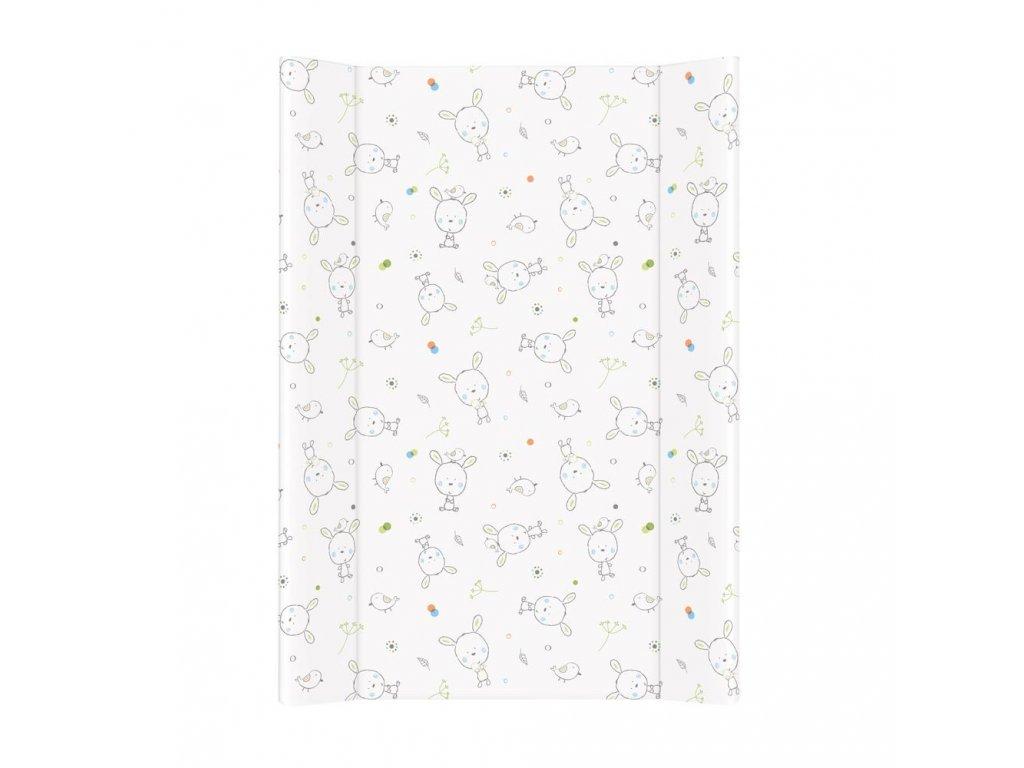 Přebalovací podložka MDF 70 cm Dream puntíky bílá