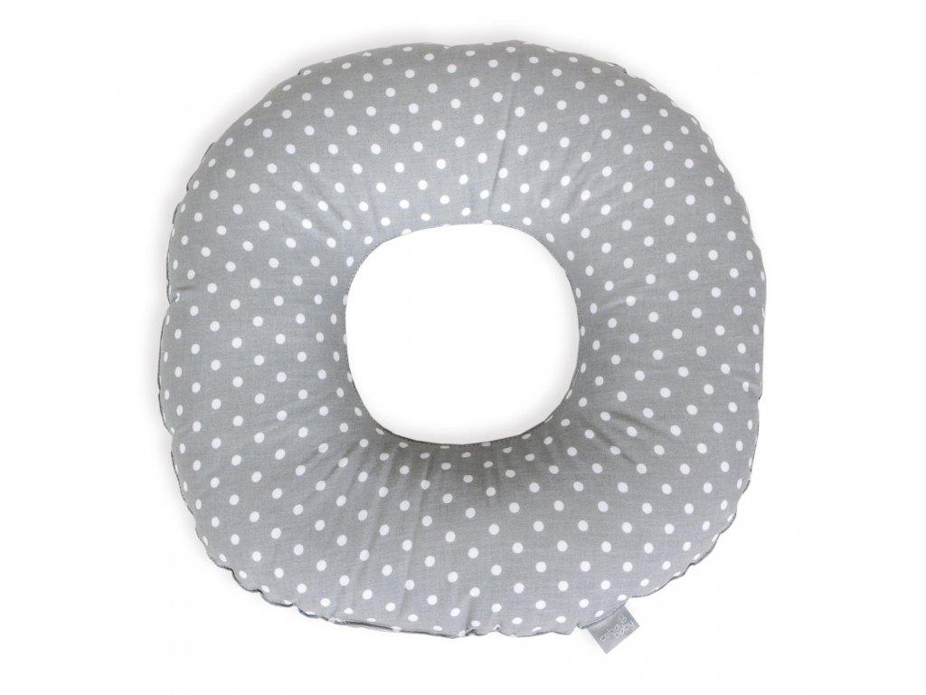 Poporodní kruh Bílé puntíky na šedé