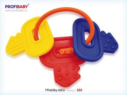 Přívěsky klíče kousátko Profibaby