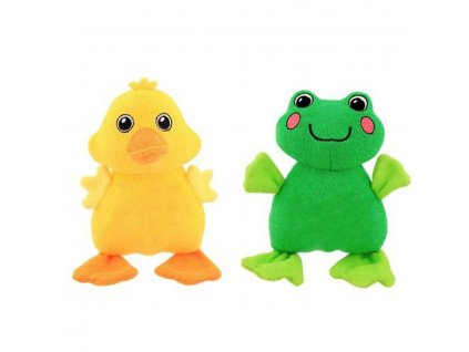 Sassy Měkká hračka do koupele (kuřátko nebo žába)