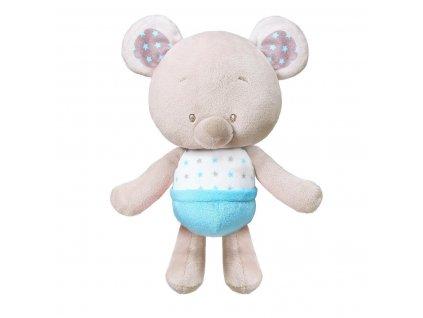 Plyšová hračka babyono meďa modrý