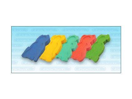 Lehátko molitanové do vaničkyTega různobarevné