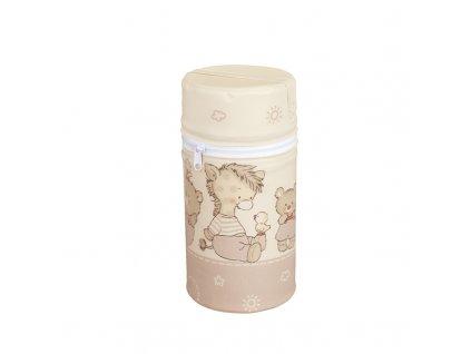 Termoobal na kojeneckou lahev mini Ceba béžový