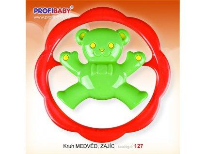 Chrastítko kruh medvěd Profibaby