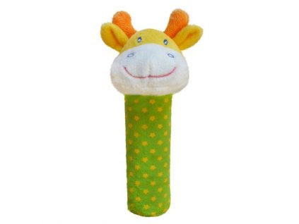 Bobobaby plyšové pískátko ZW-5 žirafka
